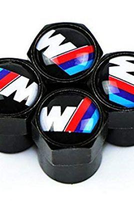 BMW M Power ventieldopjes zwart