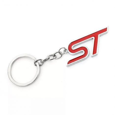 FORD ST sleutelhanger rood